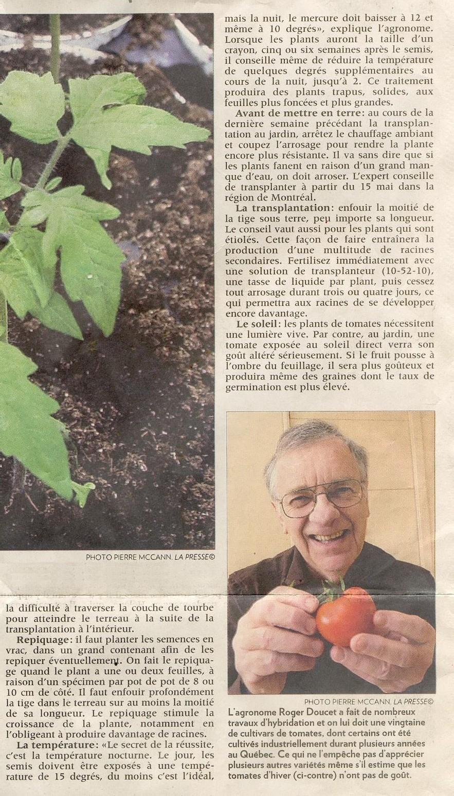 Comment avoir des tomates qui ont du gout de la - Comment congeler des tomates du jardin ...